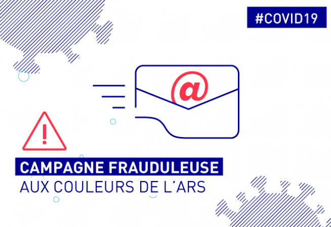 #COVID19. Campagne mail frauduleux