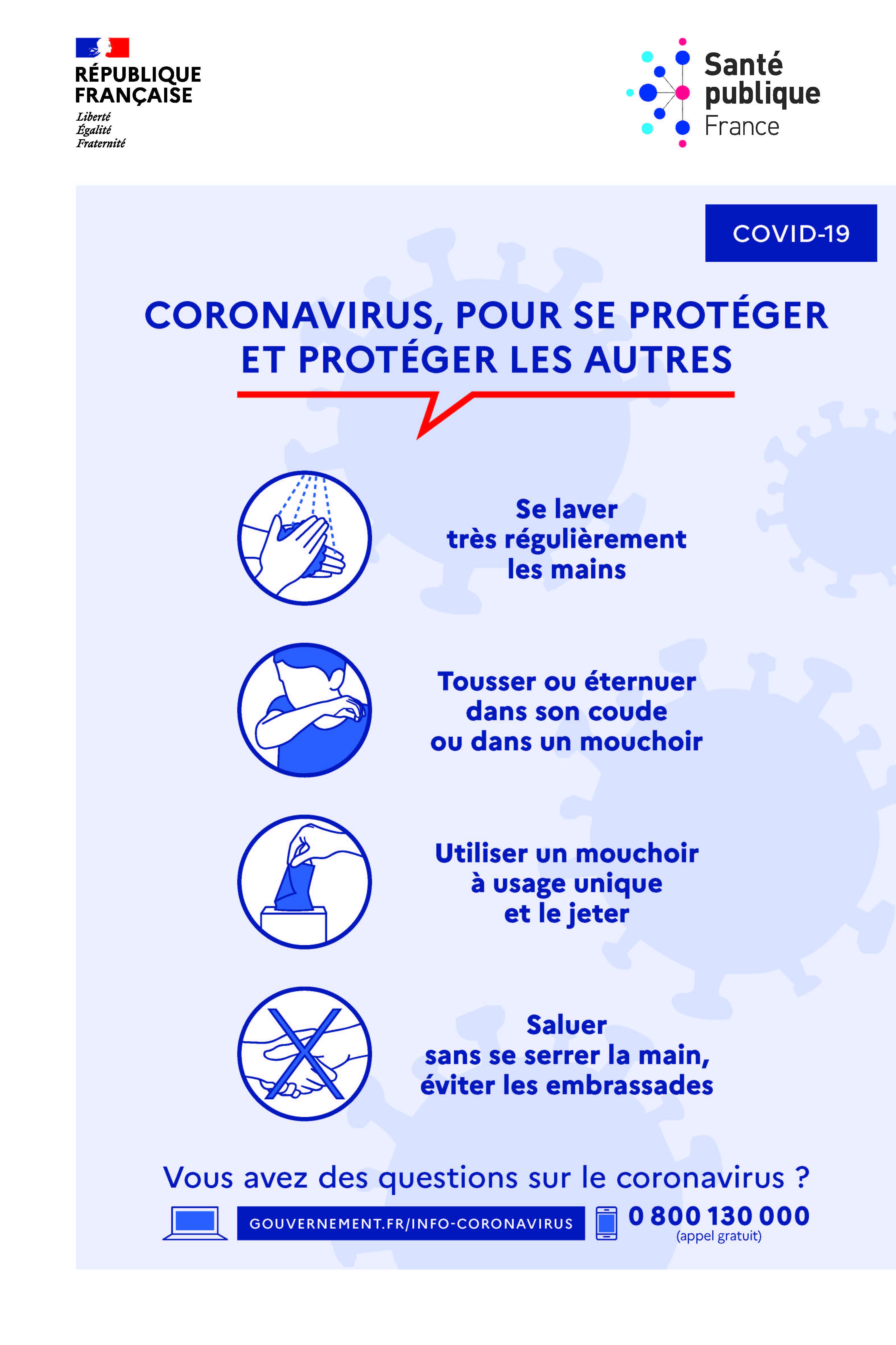 Coronavirus, comment réduire le risque d'infections sur le lieu de travail