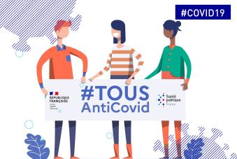 #COVID19. #TousAntiCovid