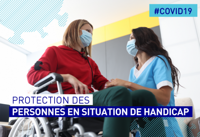 #COVID19. Protection des personnes en situation de handicap